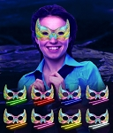 Glow Masks - Butterfly Assorted (8-Pack)